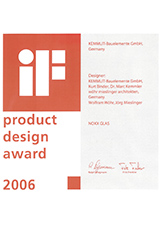 iF Design Award NOXX Cubicle System