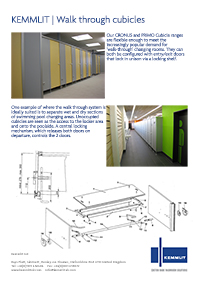 Walk-through Cubicle
